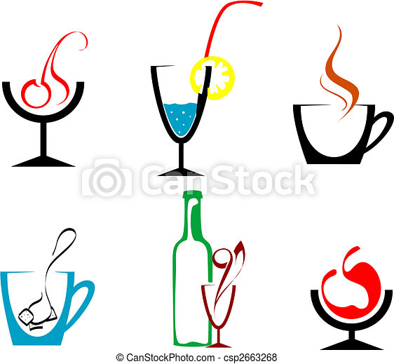 Beverages and drinks - csp2663268