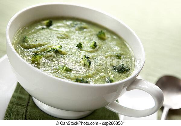 Broccoli Soup - csp2663581
