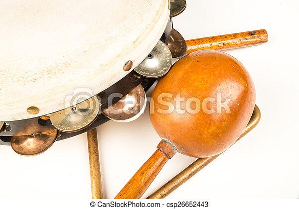 Small percussion instruments - csp26652443