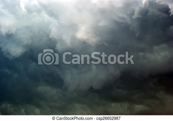 overcast sky.