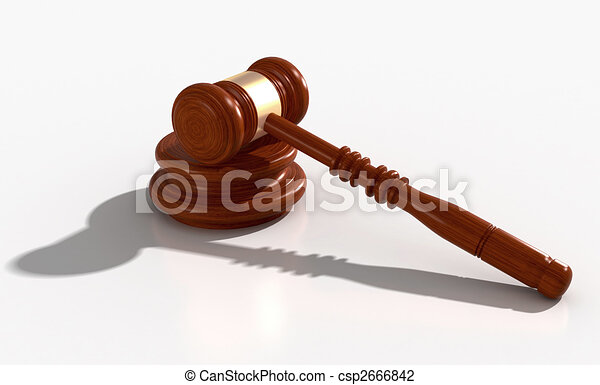 3D Model of gavel - csp2666842