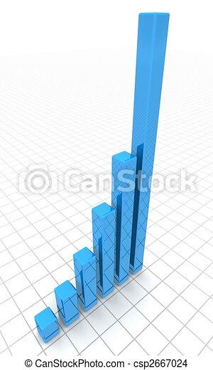 Financial success outstanding concept - csp2667024