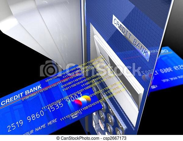 CASH MACHINE - csp2667173