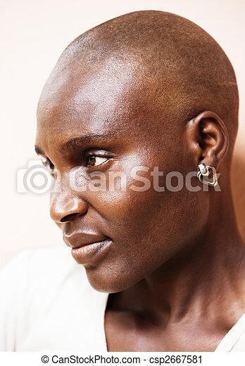Poor African woman - csp2667581