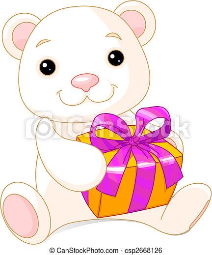 Adorable Teddy Bear - csp2668126