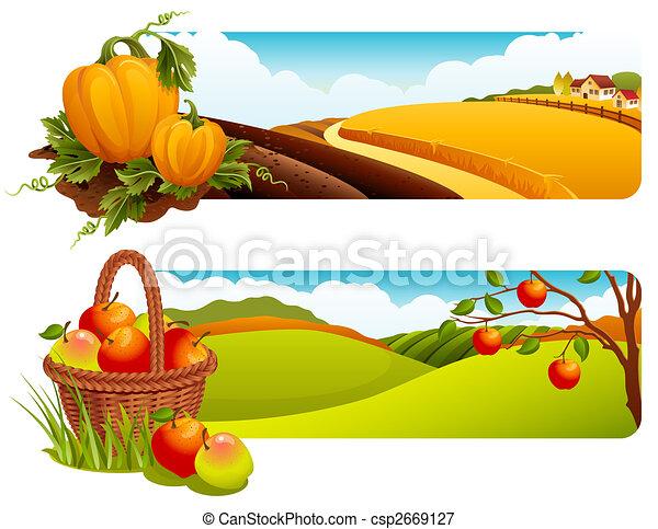 Harvest - csp2669127
