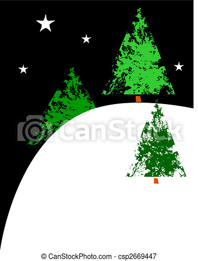 X-Mas Trees on a Hill - csp2669447