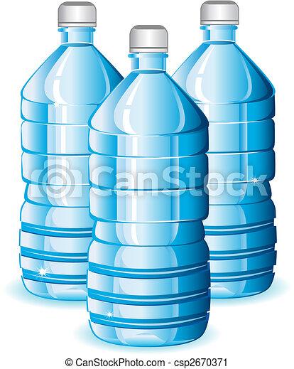 Water bottles - csp2670371