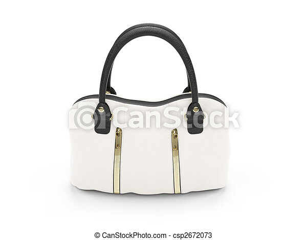 White satchel - csp2672073