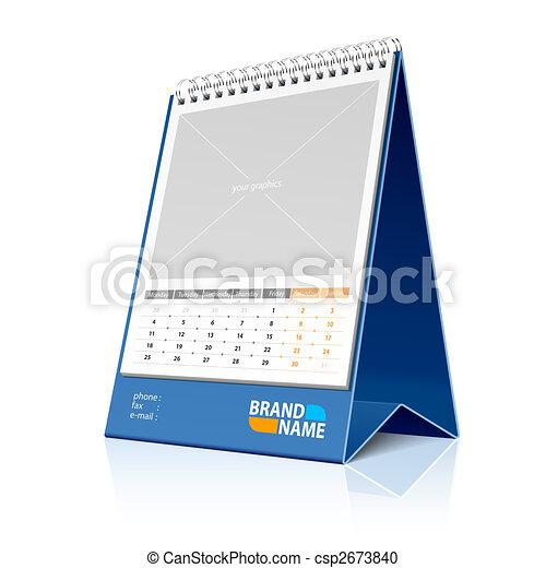Desktop calendar - csp2673840