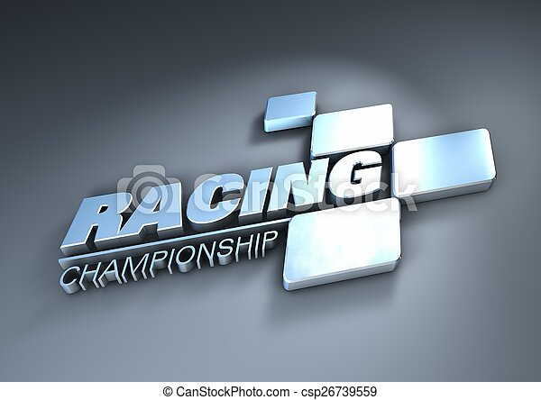 logo racing championship - csp26739559