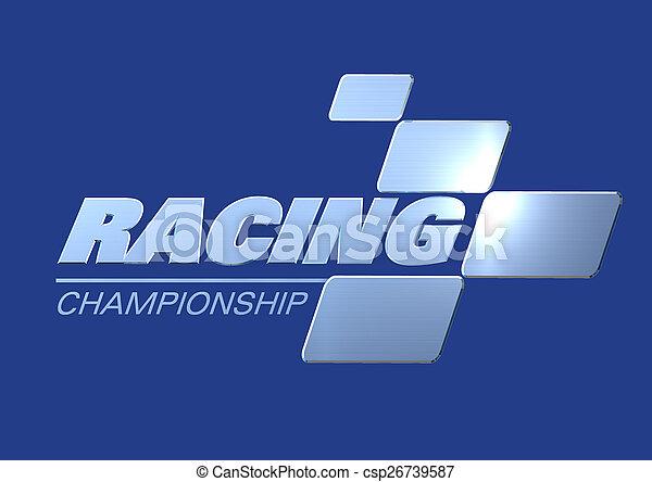 Logo Racing Championship - csp26739587