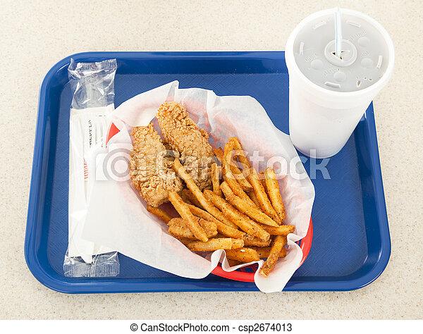 Fast Food - csp2674013