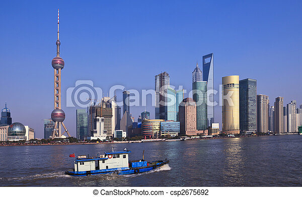 shanghai china - csp2675692