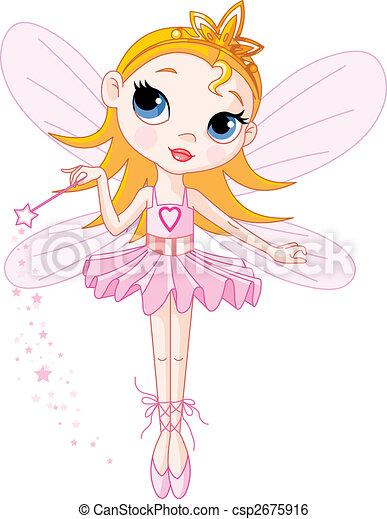 Cute fairy - csp2675916