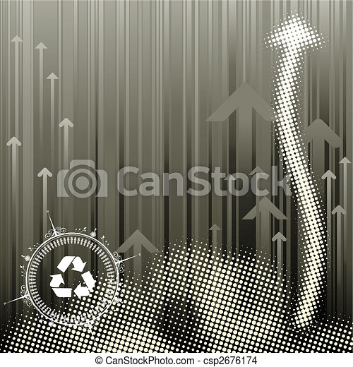 Pollution Background - csp2676174