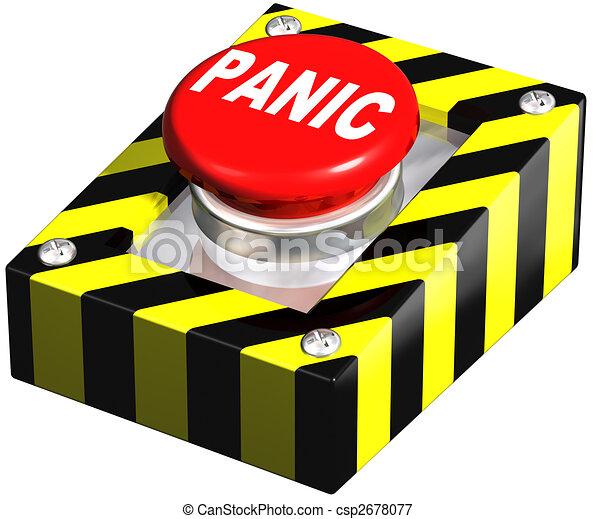 Industrial Panic button - csp2678077