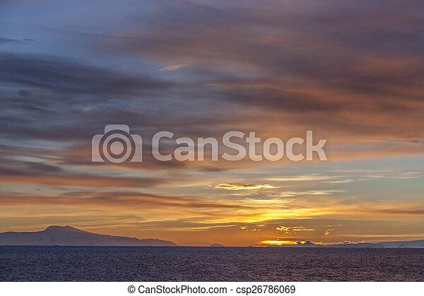 Midnight Sun - Drake Passage - Antarctica