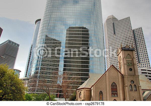 Downtown Houston, Texas - csp2679178