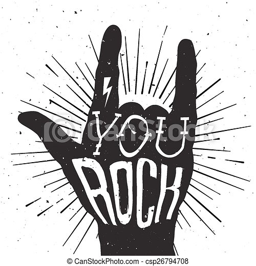 Vector Clipart of Dist... Rock Clipart Black And White
