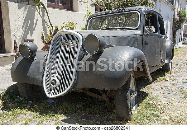 Vintage - Old Style Car - csp26802341