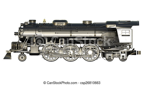 steam locomotive - csp26810663