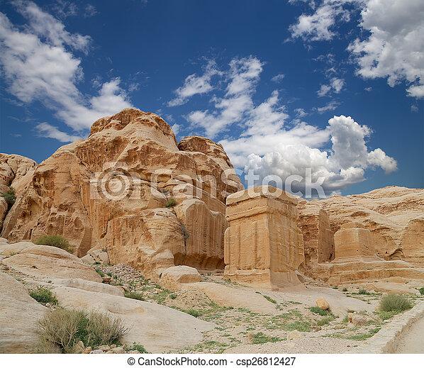 Mountains of Petra, Jordan, Middle East  - csp26812427