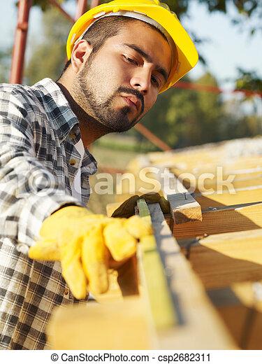 construção, trabalhador - csp2682311
