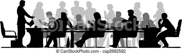 Busy meeting - csp2682592