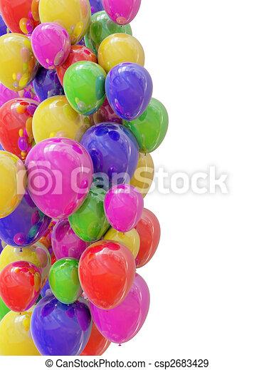 Balloons - csp2683429