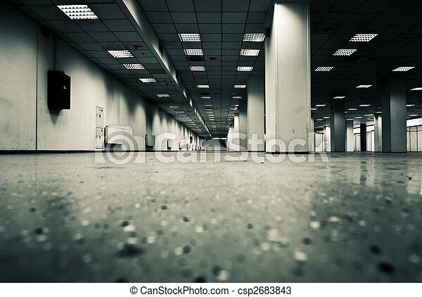 Underground parking - csp2683843