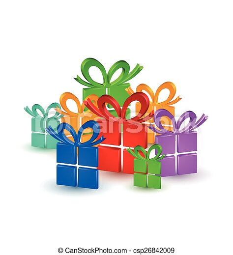 Colorful gifts - csp26842009