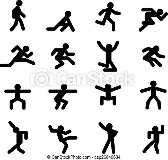 Human Running Drawing Human Action Poses Running