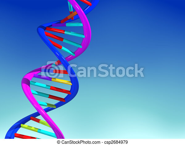 DNA structure - csp2684979