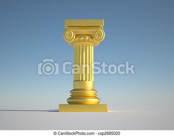 Pillar column - csp2685020