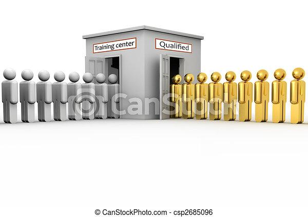 Training center - csp2685096