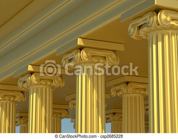 Roman columns - csp2685228