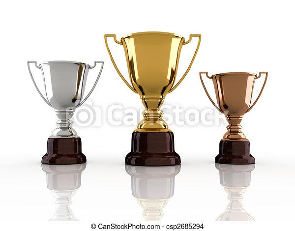Winners trophy - csp2685294