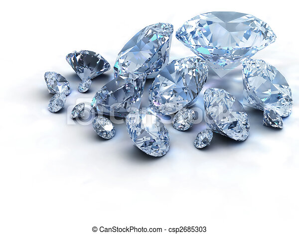 Diamonds - csp2685303