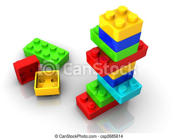 Logo toy blocks - csp2685614