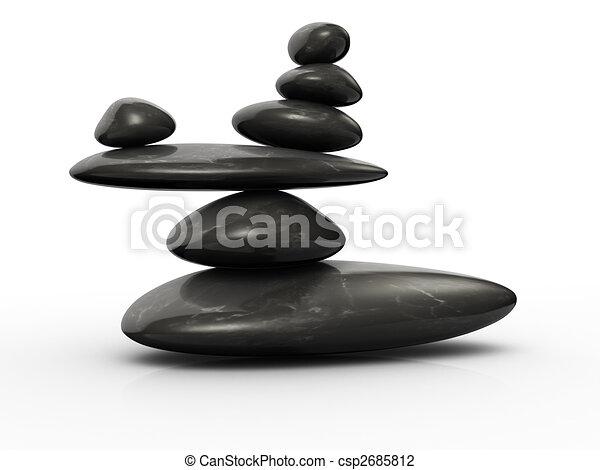 clip de 233 quilibre structure de pierres