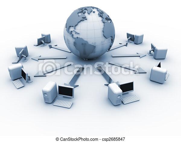 Global computer network - csp2685847