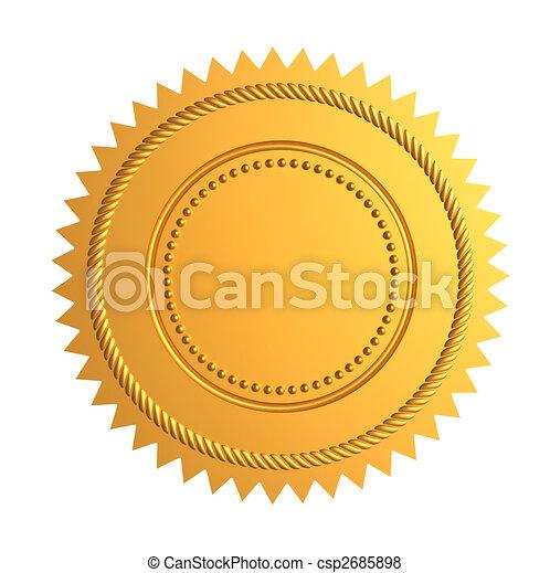 Gold seal - csp2685898