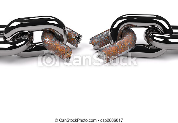 Rusty broken link - csp2686017