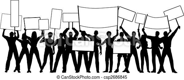 Placard holders - csp2686845
