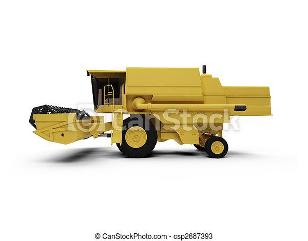 Combine Harvester - csp2687393