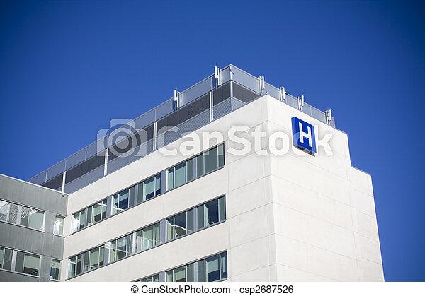 Modern hospital - csp2687526