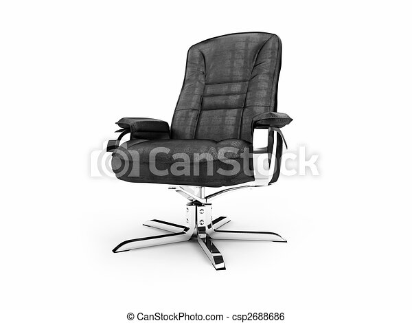 Leather armchair for chief and boss - csp2688686