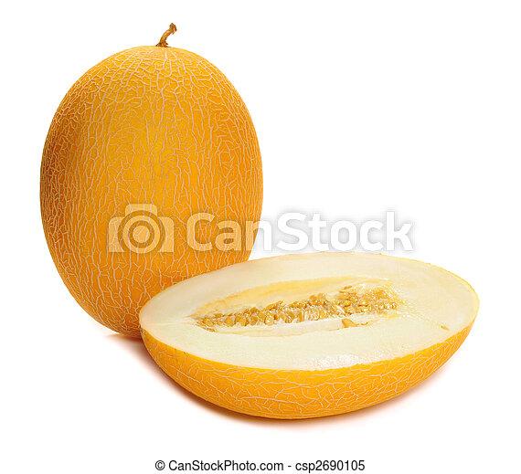 melon cantaloupe - csp2690105