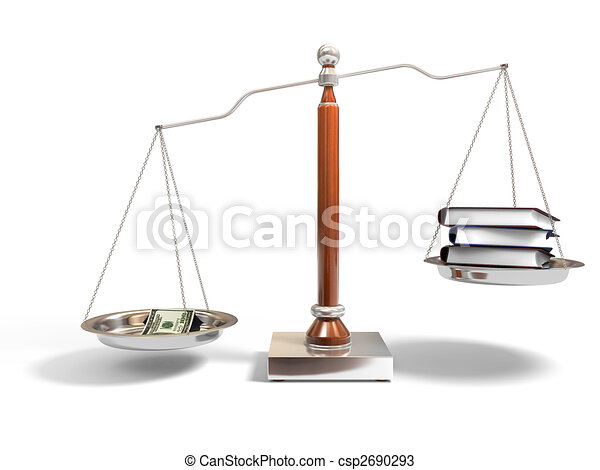 drawings of money and books on balance scale 3d image of Scales of Justice Clip Art Free Download Justice Clip Art Free